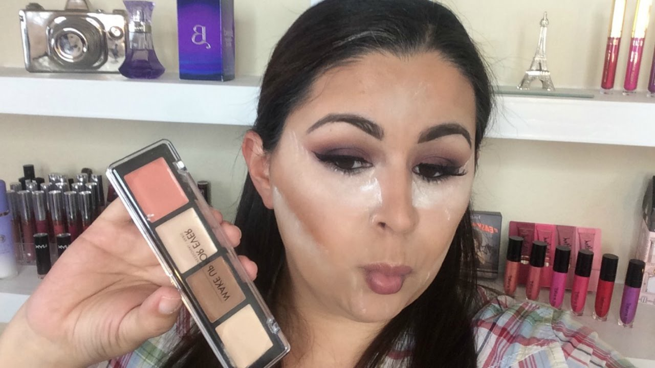 Mufe Pro Sculpting Palette Review And Demo Jasmin Huerta