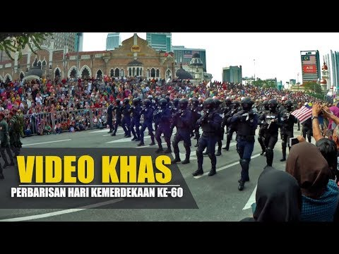 (KHAS PDRM) PERBARISAN HARI KEBANGSAAN KE 60 - (31 OGOS 2017)