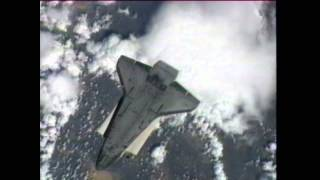 STS-134: Rendezvous Pitch Maneuver