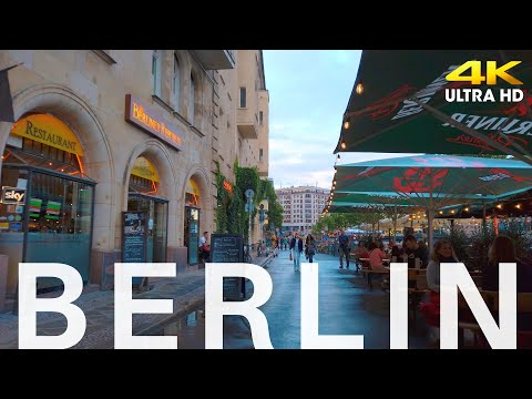 Berlin Cycling 2020 Mitte, Museumsinsel [4K] Germany 🇩🇪 Prenzlauer berg, Kastanienallee, Torstraße