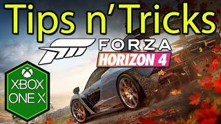 Forza Horizon 4 Tips & Tricks Xbox One X