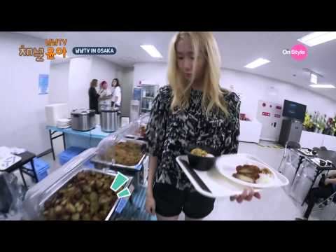 [Channel Yoona_채널 윤아] Real Eating Broadcast in Osaka