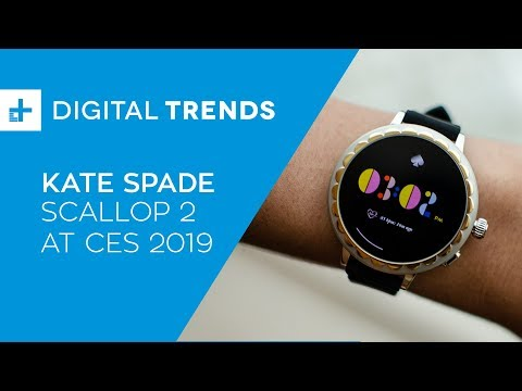 Kate Spade Scallop 2 - Hands On at CES 2019
