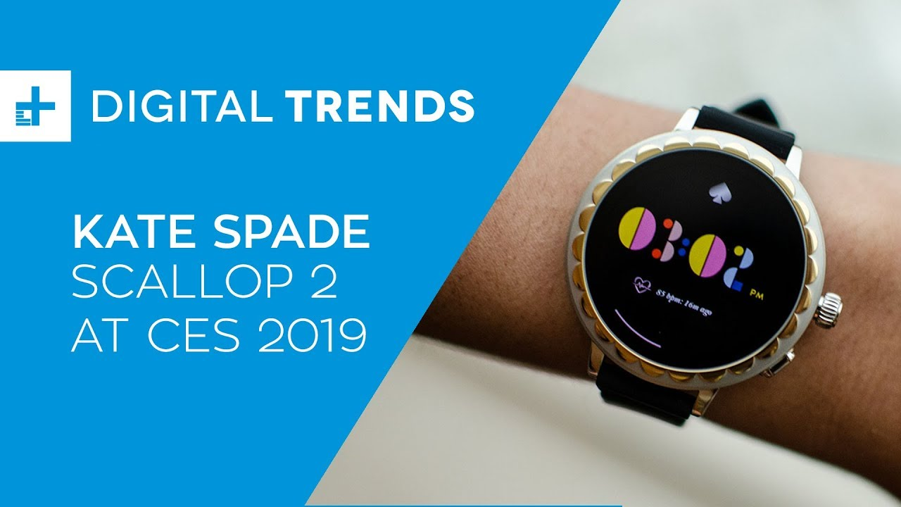 Kate Spade Scallop 2 Hands On At Ces 2019 Youtube
