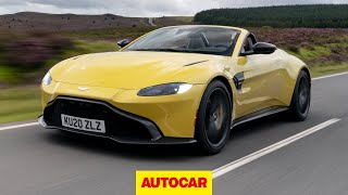 New Aston Martin Vantage Roadster review | 2020's fastest soft-top | Autocar