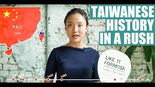 Taiwanese history in a rush - best for tourists丨hack it formosa 001 storyteller of taiwan