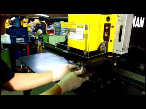 "Namsung industries co. ""NSB-707 Manual panel punching machine"