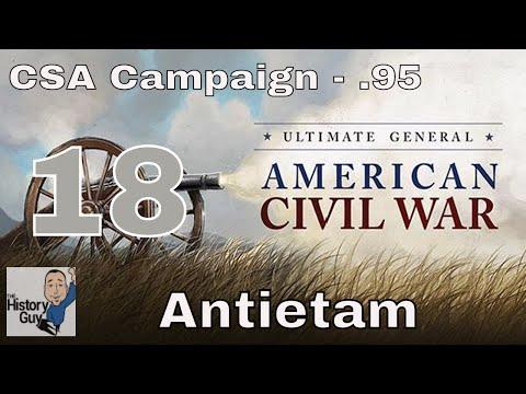 ANTIETAM (SHARPSBURG) - Ultimate General: Civil War version .95 - Confederate Campaign #18