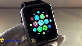 Обзор часов Smart Watch IWO 1 - высокое качество и стиль(Часы IWO 1 – часы из более дорогой категории, чем часы GT08, A1 и т.п. Упаковка красивая и солидная, качество на..., 2016-05-04T16:48:01.000Z)
