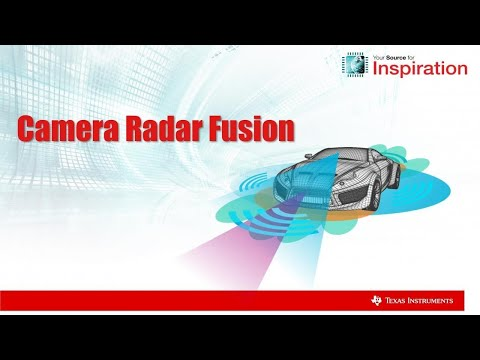 Camera Radar Fusion Project with TI Automotive Processors