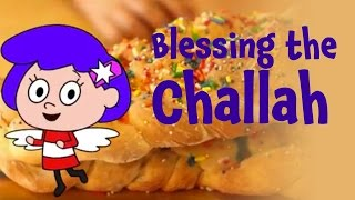 Learn to Bless the Challah for Shabbat - Saying the Hamotzi for kids