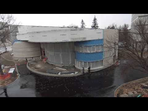 Gordon Oakes Red Bear Student Centre, University of Saskatchewan Time-Lapse