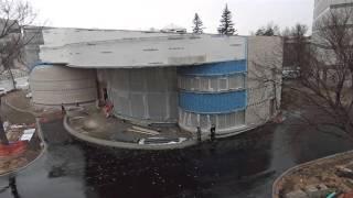 Gordon Oakes Red Bear Student Centre, University Of Saskatchewan Time Lapse