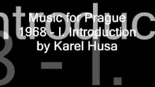 Music for Prague 1968 - Introduction