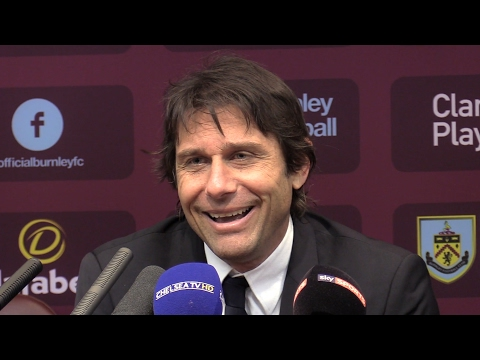 Burnley 1-1 Chelsea - Antonio Conte Full Post Match Press Conference