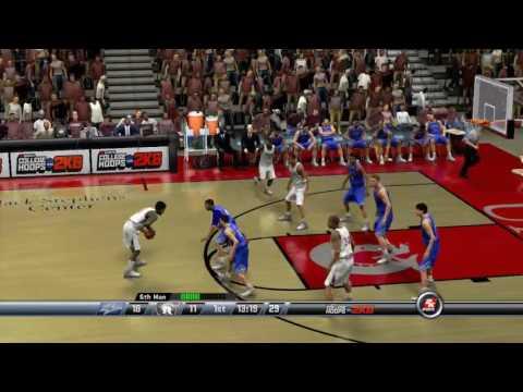 UALR VS UNC Asheville (College Hoops 2K8)