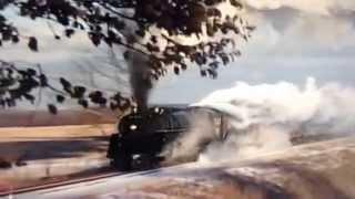 Ohio Central Railroad (Grand Trunk Western) #6325 In The Snow