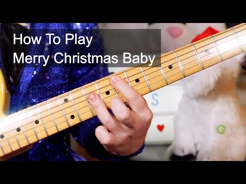 'Merry Christmas Baby' Otis Redding Guitar Lesson