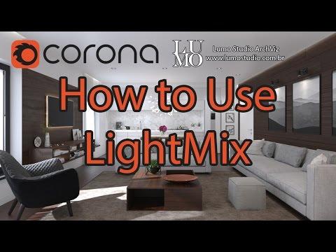 Corona LightMix - Tutorial how to use - Corona 1.5