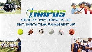 Thapos - Best Sports Team Management App