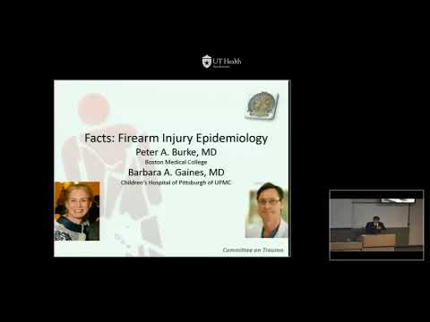 GR   09 18 17   Firearm Injury Prevention from the American College of Surgeons Committee on Trauma