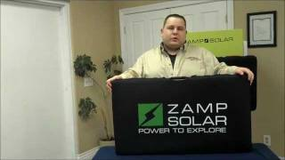 Zamp Portable Solar Charging System for RV's, Travel Trailers, Motor Homes, Boats and Airstreams