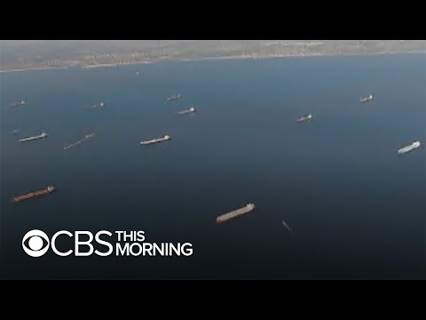 Full oil tankers idle outside U.S. port as industry reels from pandemic