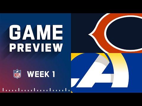 Chicago Bears vs. Los Angeles Rams | Week 1 NFL Game Preview