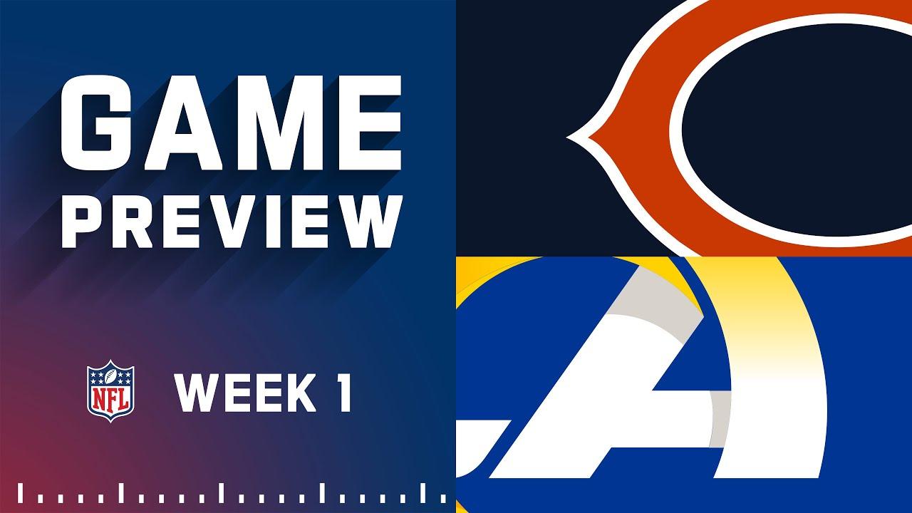 Week 1 updates: Chicago Bears at Los Angeles Rams