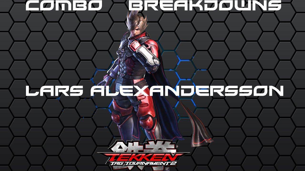 Tekken Tag 2 Lars Combo Breakdowns Youtube