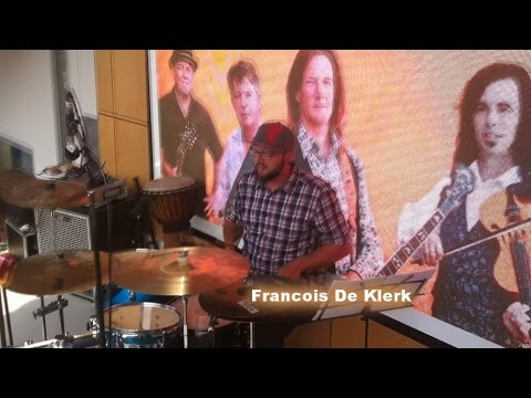 Round Mountain Girls introduce their new drummer, Francois De Klerk