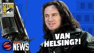 Channing Tatum as Van Helsing in the Dark Universe?  - SDCC 2017