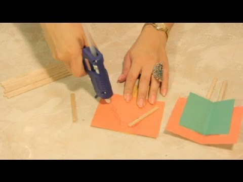 Paper Popsicle Stick Flying Machine Crafts Craft Project Ideas