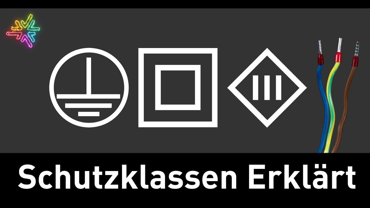 Bekannt Die Schutzklassen in der Elektrotechnik - YouTube FW89