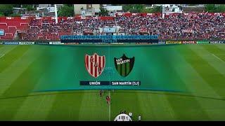 Fútbol en vivo. Unión - San Martín de San Juan. Fecha 29 Primera División 2015. FPT.