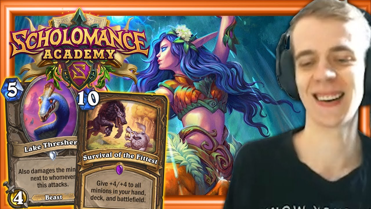 Beast Druid Is Back! SCHOLOMANCE ACADEMY GRAND OPENING!! New Hearthstone Expansion Gameplay thumbnail