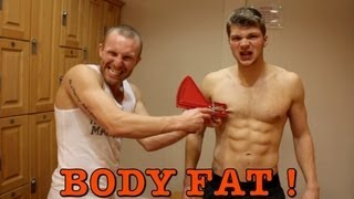 BODY FAT TEST - HOW TO FIND YOUR BODY FAT PERCENTAGE.