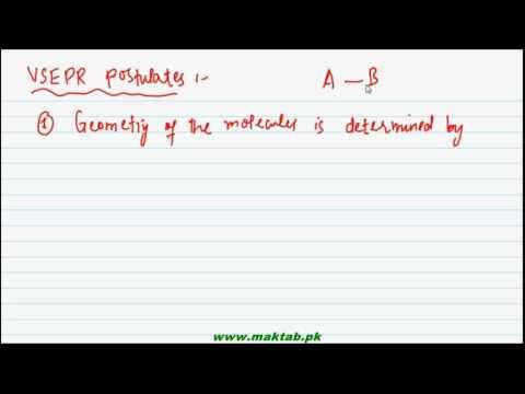 FSc Chemistry Book1, CH 6, LEC 15: VSEPR 1