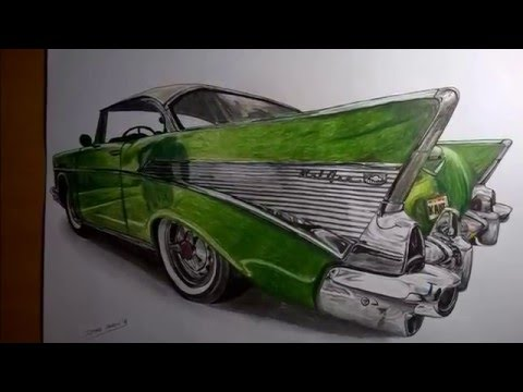 Realistic drawing - Chevrolet BelAir (shortened)