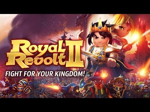 Royal Revolt 2 Android GamePlay Trailer (HD) [Game For Kids]