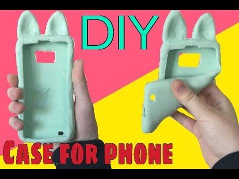 DIY| Силиконовый чехол для телефона