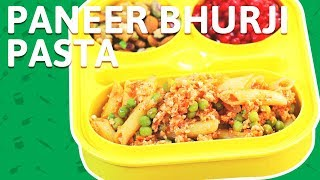 Paneer Bhurji Pasta Recipe | How To Make Paneer Bhurji Pasta for kids | Cottage Cheese Pasta Recipe