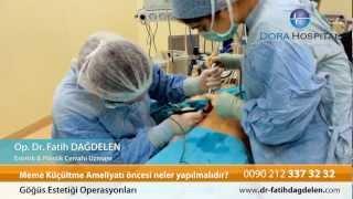 Meme Küçültme Ameliyatı Öncesi Neler Yapılmalıdır?