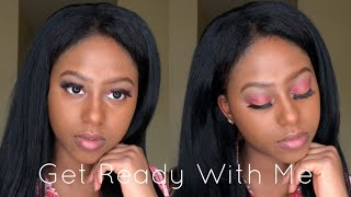GRWM | WATCH ME DO MY MAKEUP FOR THE 1ST TIME!!