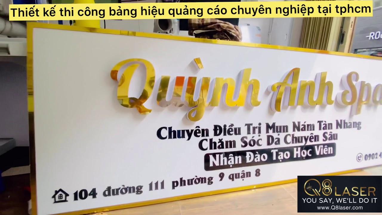 #1 Làm Bảng Hiệu Quảng Cáo Hộp Đèn giá rẻ nhất tại Gò Vấp tphcm