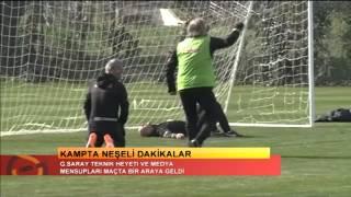 FUTBOL | Galatasaray Teknik Heyeti ve Medya Mensupları Maçta Bir Araya Geldi