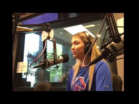 2020 Setter Ashley Hayden radio interview on why she chose Boise State Volleyball
