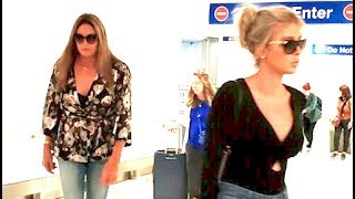 Caitlyn Jenner Returns To LA With Girlfriend Sophia Hutchins