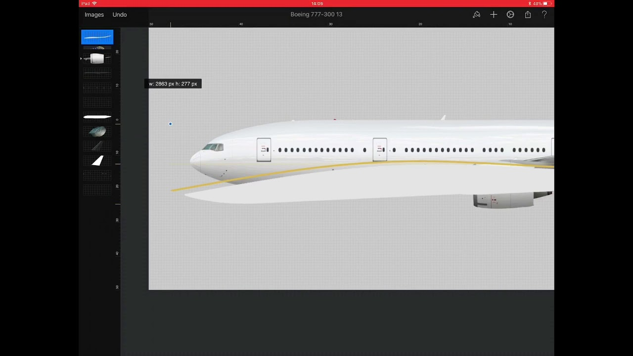 United Airlines Dreamliner livery 777-300er