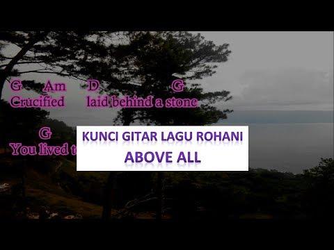 ABOVE ALL (cover)| Kunci Gitar dan Lirik Lagu || chord guitar